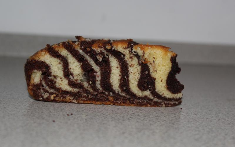 Gâteau zébré !