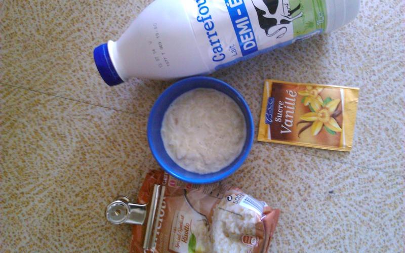 Riz au lait super facile
