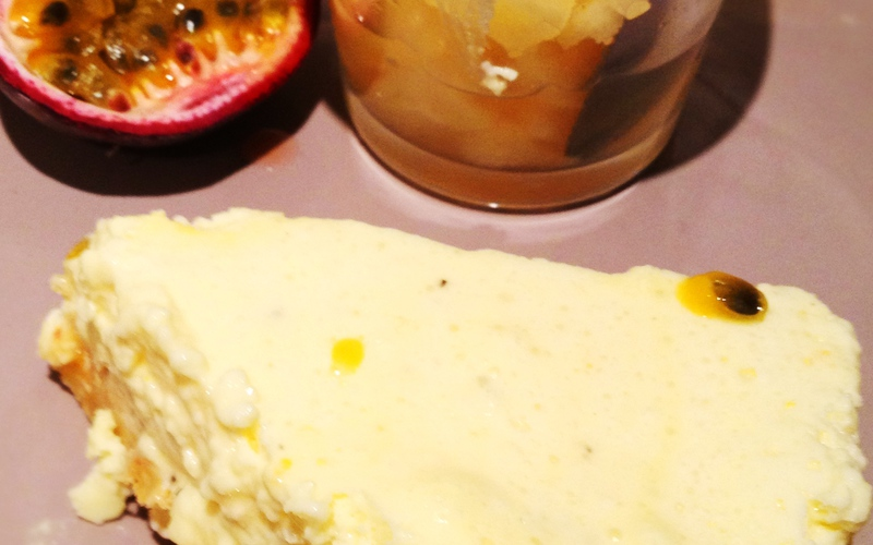 Cheese Cake Passion (Pommes Lianes)